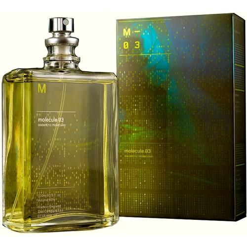 MOLECULE 03 by ESCENTRIC MOLECULES Perfume 5ml Travel Spray Vetiver Fragrance