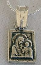 Mother and son pendant square - $20.00