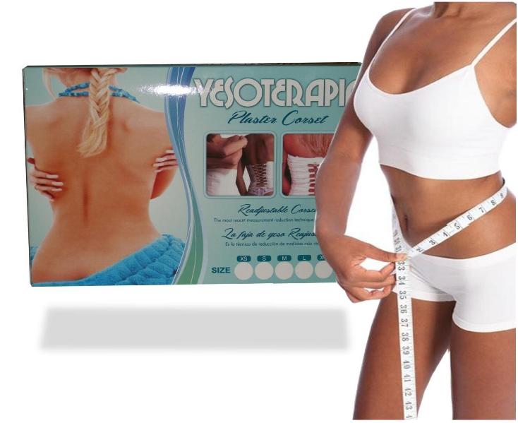 Yesoterapia Original Faja de Yeso Lose 2 Size in Just 2 Weeks,