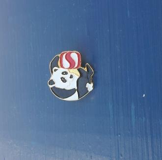 1988 Olympics - Safeway Panda Pin