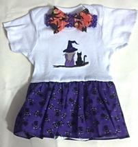 Infant Embroidered Bodysuit Skirt Halloween 12-18 months + Headband - $21.95