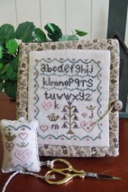 Queen Of Hearts Needlebook cross stitch chart From The Heart  - $7.20