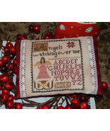 Angels Watching Over Me cross stitch chart Abby Rose Designs - $8.10