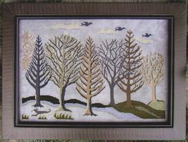 Silver Landscape cross stitch chart Carriage House Samplings - $10.80