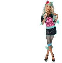 Monster High - Set - Costume + Wig - Lagoona Blue - Child - Large - Size 12-14 - $30.70