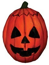 Halloween III Jack-o'-lantern Pumpkin Trick or Treat Mask - £33.86 GBP