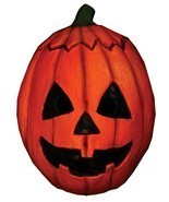 Halloween III Jack-o'-lantern Pumpkin Trick or Treat Mask - £34.23 GBP