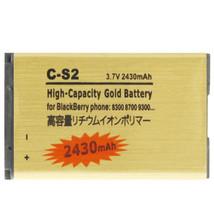 2430mAh C-S2 High Capacity Golden Edition Business Battery for BlackBerr... - $23.00