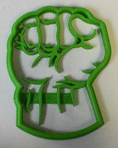 Hulk Superhero Marvel Avengers Character Cookie Cutter 3D Printed USA PR463 - $2.99