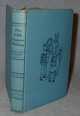 Five Little Peppers Midway Margaret Sidney 1918 Juvenile Series Book