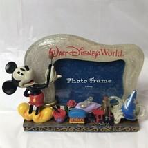 Mickey Mouse 3D Photo Frame Disney World 100 Years Of Magic Figurine - $34.64