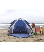 Genji Sports Tent Shelters One Step Instant Push Up Hexagon Beach Tall New - $139.82