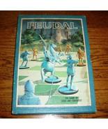Complete Vintage Feudal 1969 Bookshelf Board Game of Siege & Conquest War - $33.66