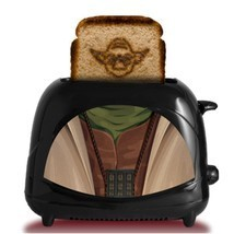 Star Wars Toaster Empire Collection Yoda Character Dorm Man Cave - $66.84 CAD