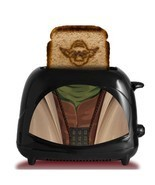 Star Wars Toaster Empire Collection Yoda Character Dorm Man Cave - $1.056,03 MXN