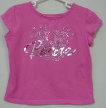 Girls Barbie Avenue Pink Short Sleeve Top Size M  - $3.95