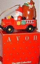 Avon Santa Fireman lighted ornament 1988 NIB with Tag - $9.95