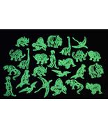 24 Piece Glow in the Dark Dinosaurs - $8.50