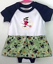 Infant Embroidered Bodysuit Skirt Halloween 18 months + Barrettes - $21.95