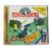Hasbro Interactive MONOPOLY 1997, PC Computer Game CD-ROM  - $8.10