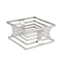 10 x 10 x 5 1/4 inch Riser 18/2 Stainless Steel, Case Of 2 - $275.92