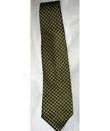 "Brooks Brothers Basics navy yellow silk 4"" blade tie - $16.72"