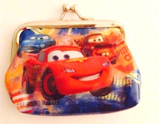 Primary image for Cute Disney CARS Children's Coin Purse— More Fun Character Coin Purses Too!