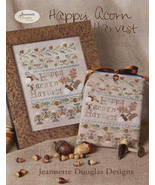 Happy Acorn Harvest cross stitch chart Jeanette... - $15.30