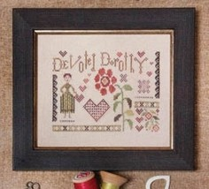 Devoted Dorothy cross stitch chart Jeanette Douglas Designs - $9.00