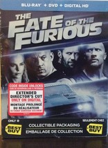 Fate Of The Furious  Best Buy Canada SteelBook (Blu-Ray + DVD + Digital ... - $59.99