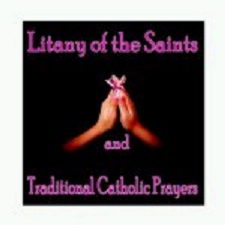 Litany of the saints and traditional catholic prayers cd300  x