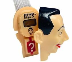 Pee Wee Herman watch 1988 vtg Nelsonic wristwatch playhouse secret compa... - $29.65
