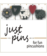Shepherd's Fold JP171 set 5 for pincushions JABC Just Another Button Co - $13.95