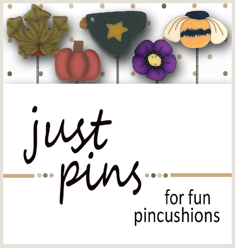 Primary image for Pumpkin Harvest JP172 set 5 for pincushions JABC Just Another Button Co