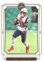 2019 Panini Legacy #70 James White NM-MT New England Patriots  Officiall... - $1.50
