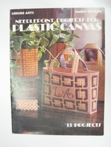LEISURE ARTS 138 NEEDLEPOINT PROJECTS PLASTIC CANVAS - $12.95