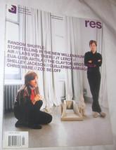 RES Film, Music, Art, Design & Culture Magazine Vol. 7 NO. 1 Free Shipping U.S.A - $11.22