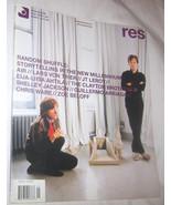RES Film, Music, Art, Design & Culture Magazine Vol. 7 NO. 1 Free Shippi... - $11.22