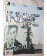 RES Film, Music, Art, Design & Culture Magazine Vol. 7 NO. 4 Free Shippi... - $11.22