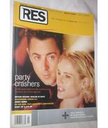 RES Film, Music, Art, Design & Culture Magazine Vol. 4 NO. 3 Free Shippi... - $11.22