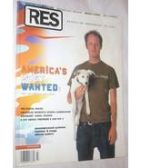 RES Film, Music, Art, Design & Culture Magazine Vol. 4 NO. 4 Free Shippi... - $11.22
