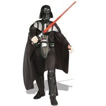 Adult Deluxe Darth Vader Star Wars Costume Rubies 56077 XL - $118.79