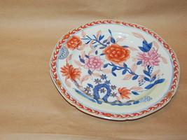 Masons Patent Ironstone China Pearlware Imari Peony Tree Dinner Plate 1813 - 20 - $195.00