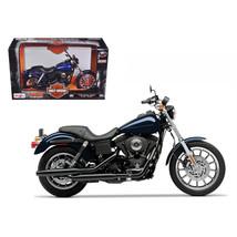 2004 Harley Davidson Dyna Super Glide Sport Bike Motorcycle 1/12 Model b... - $23.04