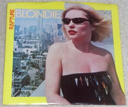 BLONDIE DEBBIE HARRY RAPTURE WALK LIKE ME 45 RPM RECORD PIC SLEEVE CRYSA... - $14.99