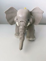 Fisher Price Little People Big Animal Zoo ELEPHANT w/ Music and Sounds TESTED  - $14.03