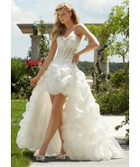 Darius Cordell America | High-Low Wedding Gowns... - $850.00