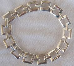 Open  Square  silver bracelet - $52.00