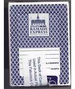 RAMADA  EXPRESS Hotel Casino Las Vegas Blue Playing Cards, Used, Sealed - $3.95
