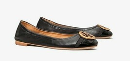Tory Burch Minnie Patent Cap Toe Ballet Flat - Size 6 - $228.00